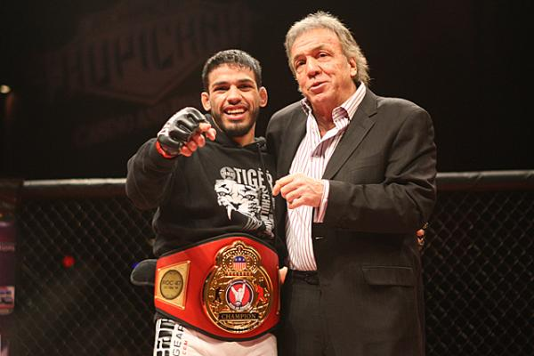 Julio Arce has drawn rave reviews in Ring of Combat. | Photo: Keith Mills/Sherdog.com