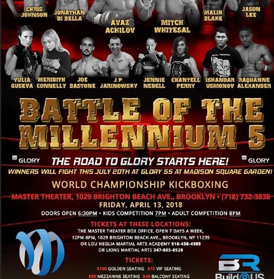 Battle of the Millennium 5 Results