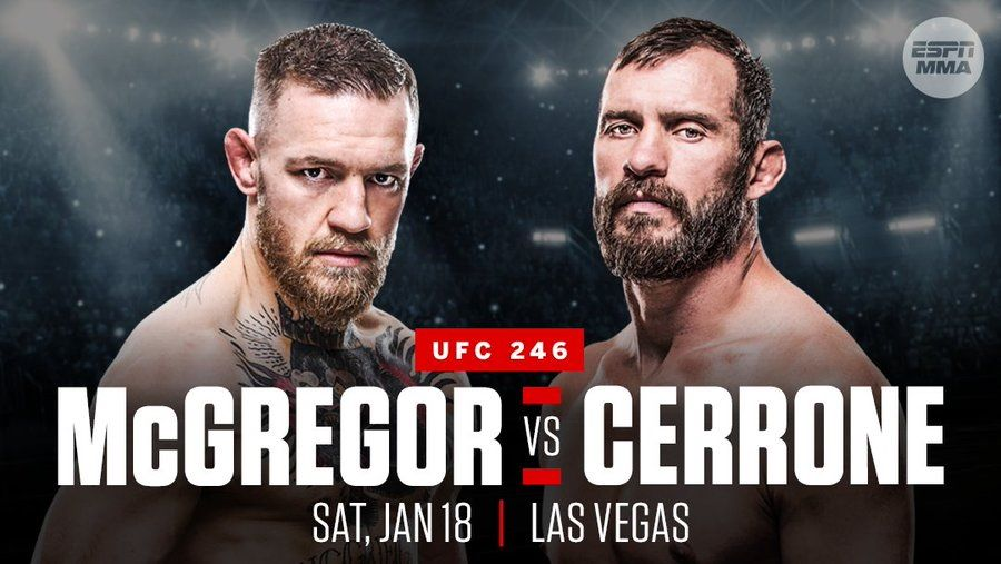 McGregor vs Cerrone prediction